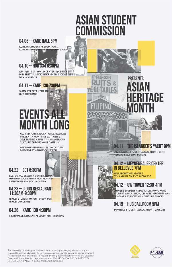Asian Heritage Month Flier